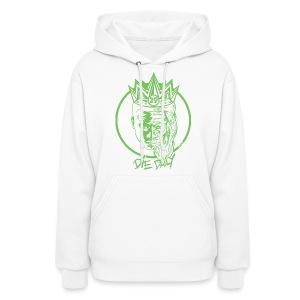 Earlion Hoodie (White/Green) - Women's Hoodie