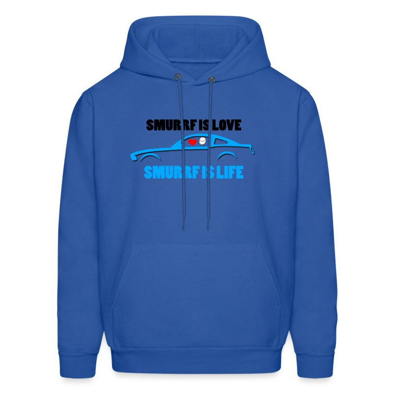 Smurrf is Love,Smurrf is Life - Men's Hoodie