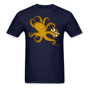 Octopus & Diver Men's T - Men's T-Shirt