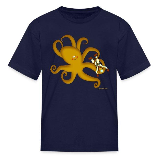 Octopus & Diver