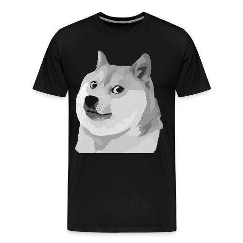 Grey shibe SPECIAL - Men's Premium T-Shirt