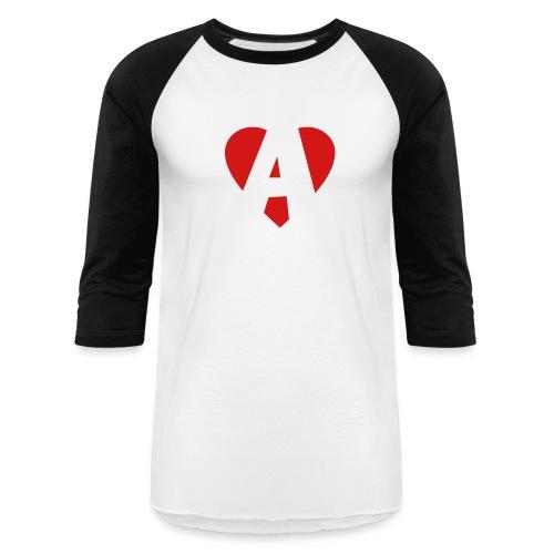 'A' Baseball Tee - Baseball T-Shirt