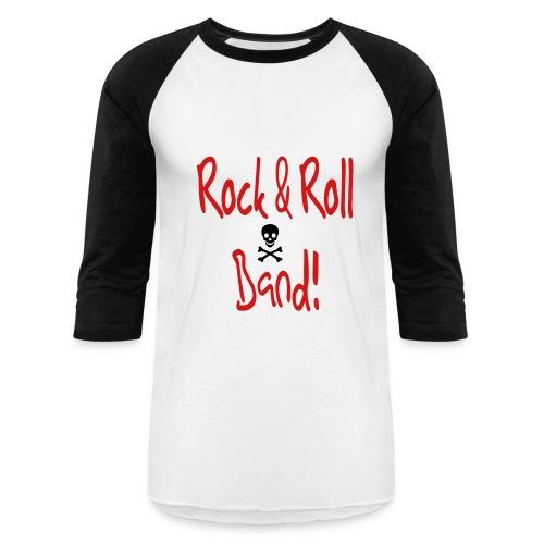 rock & roll Baseball Tee - Baseball T-Shirt