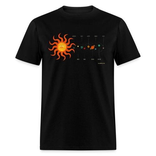 Solar System Men's T - Men's T-Shirt