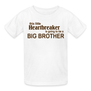 This little Heart breaker is going to be a Big Bro Kids' Shirts - Kids' T-Shirt