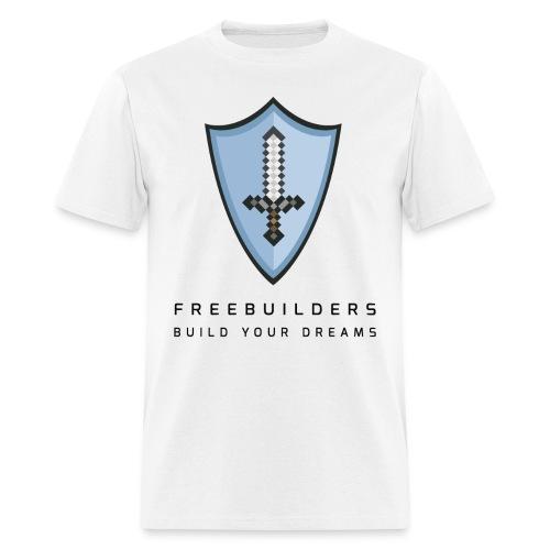 Men's T - Freebuilders Clean - Men's T-Shirt