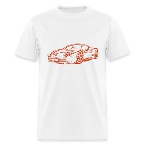 Ferrari 458 Italia Drawing - Men's T-Shirt