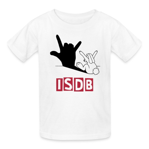 Kids I love you bunny ISDB - Kids' T-Shirt