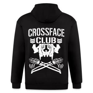 Crossface Club Standard Hoodie - Men's Zip Hoodie