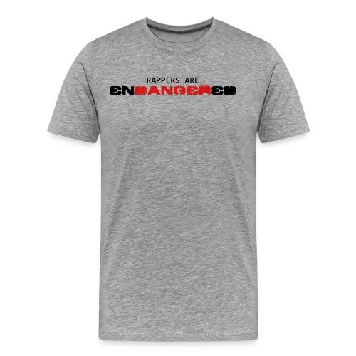 Rappers are ENDANGERED T-SHIRT - Men's Premium T-Shirt