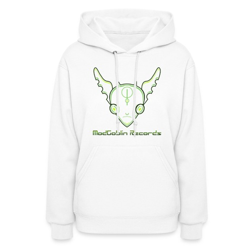 Women's Hoodie - Transparent ModGoblin Records Logo, Hooded Jumper