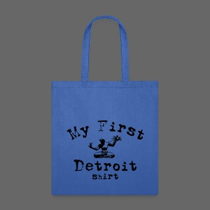 My First Detroit Shirt - Tote Bag