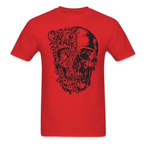 SKULL IN LOVE - Men's T-Shirt