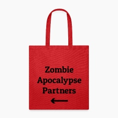zombie apocalypse partners Bags & backpacks