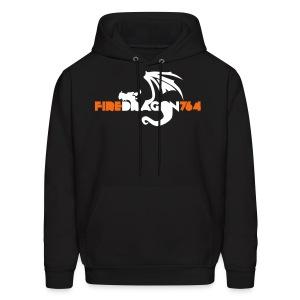 Firedragon764 Logo - Men's Hoodie