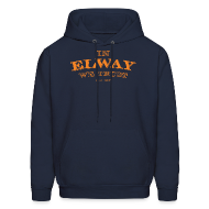 Hoodies ~ Men's Hooded Sweatshirt ~ In Elway We Trust - Hoodie - OP