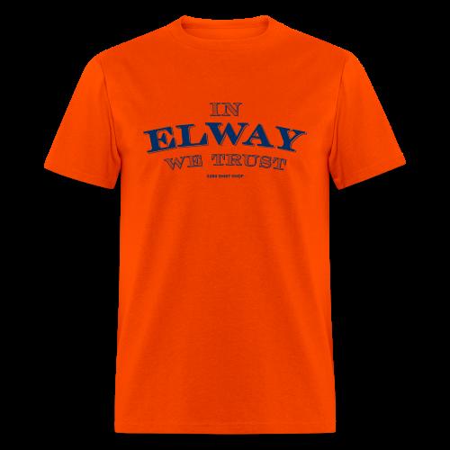 In Elway We Trust - Mens - T-Shirt - NP - Men's T-Shirt