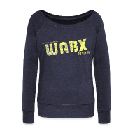 Long Sleeve Shirts ~ Women's Wideneck Sweatshirt ~ WABX