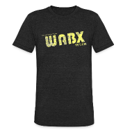 T-Shirts ~ Unisex Tri-Blend T-Shirt ~ WABX