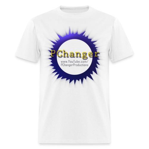 PChanger T-Shirt (Mens) - White - Men's T-Shirt