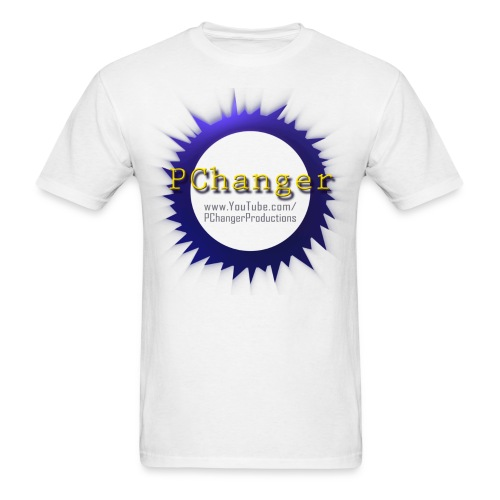 PChanger T-Shirt (Mens) - White - Men's T-Shirt