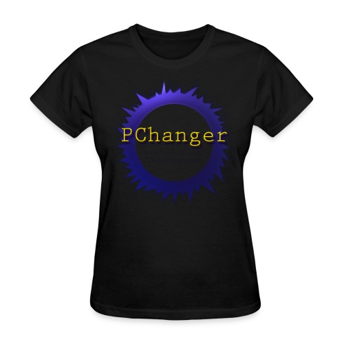 PChanger T-Shirt (Womens) - Black - Women's T-Shirt