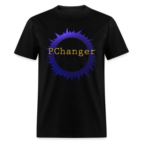 PChanger T-Shirt (Mens) - Black - Men's T-Shirt