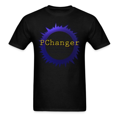 PChanger T-Shirt (Mens) - Black - Men's T-Shirt