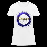 Women's T-Shirts ~ Women's T-Shirt ~ PChanger T-Shirt (Womens) - White