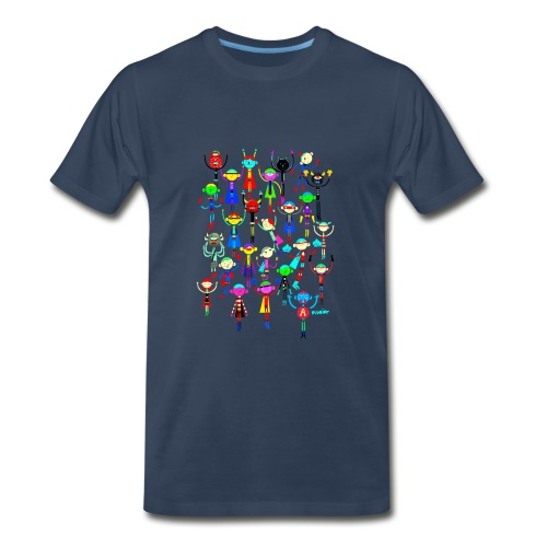 superherospishier.png - Men's Premium T-Shirt