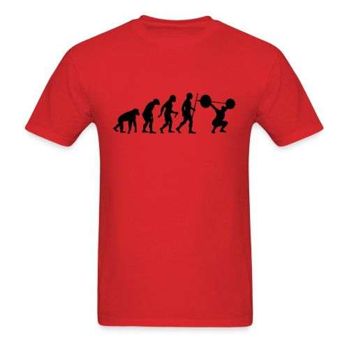the evolution - Men's T-Shirt