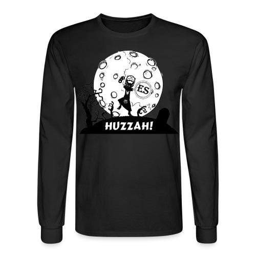 Men's Huzzah Cartoon - Men's Long Sleeve T-Shirt