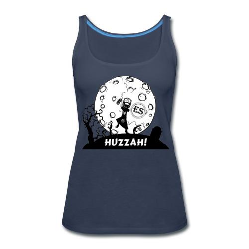 Women's Huzzah Cartoon - Women's Premium Tank Top