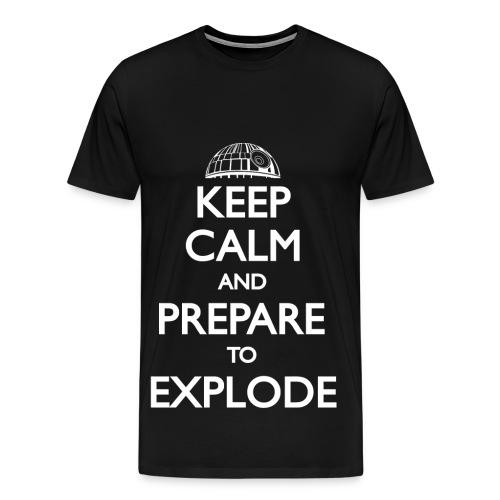 Keep calm explode - Men's Premium T-Shirt