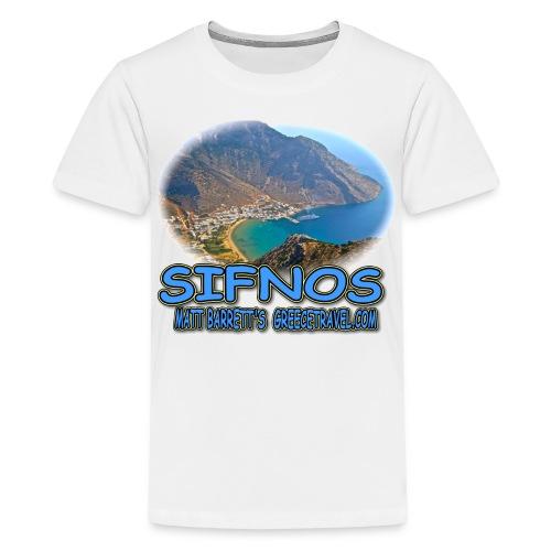 SIFNOS-KAMARES (kids) - Kids' Premium T-Shirt