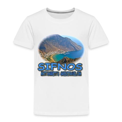SIFNOS-KAMARES (toddler) - Toddler Premium T-Shirt