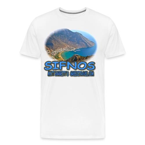SIFNOS-KAMARES (men) - Men's Premium T-Shirt
