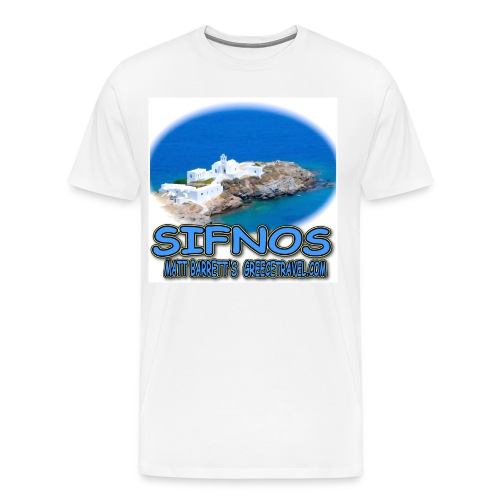 SIFNOS-CHRISOPIGI - Men's Premium T-Shirt