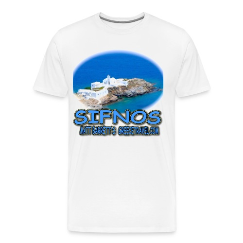 SIFNOS-CHRISOPIGI - Men's Premium T-Shirt