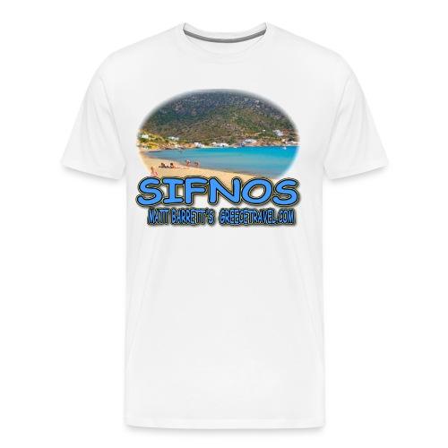 SIFNOS-VATHI - Men's Premium T-Shirt