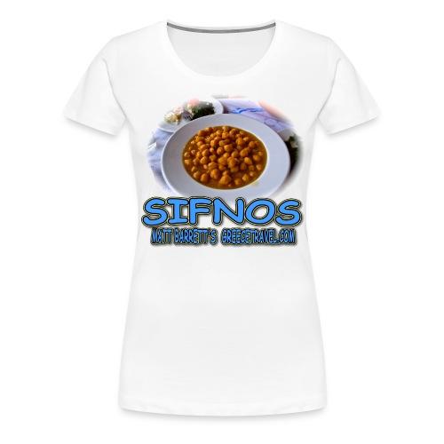 SIFNOS-REVITHIA (women) - Women's Premium T-Shirt