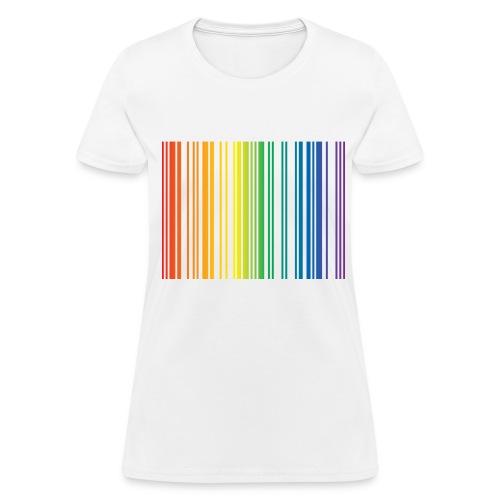 Women's Gay Barcode  - Women's T-Shirt