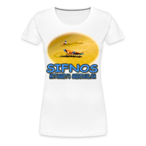 SIFNOS SAND (women) - Women's Premium T-Shirt