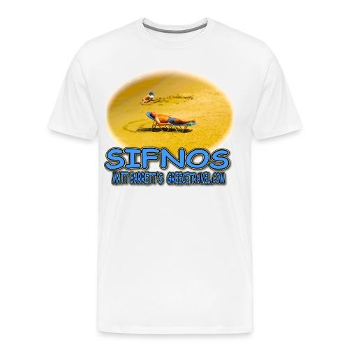 SIFNOS SAND - Men's Premium T-Shirt