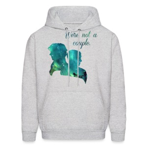 We're Not a Couple - Men's Hoodie - Men's Hoodie