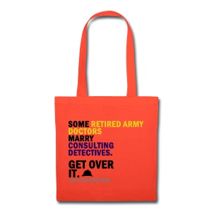 Johnlock Against H8 - Tote Bag - Tote Bag