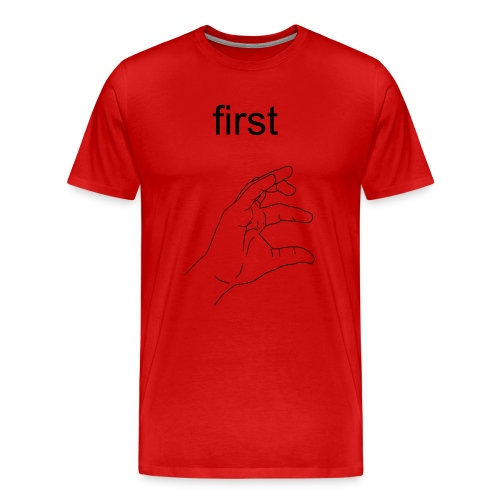 first e  - Men's Premium T-Shirt