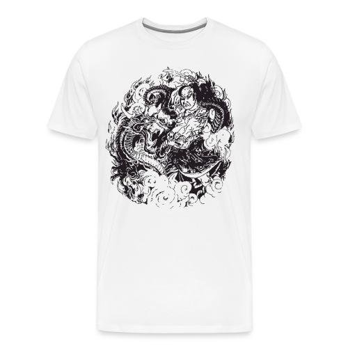Ancient Samurai  - Men's Premium T-Shirt