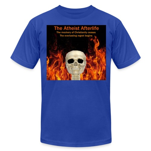 Atheist afterlife - Men's T-Shirt by American Apparel