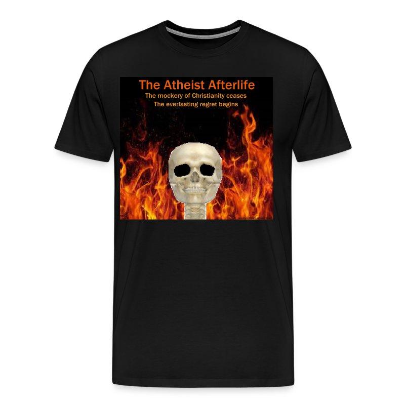 Atheist afterlife - Men's Premium T-Shirt